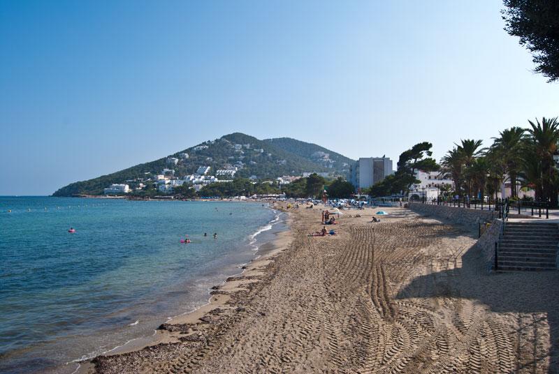 Riumar o platja del riu de santa eul ria eivissa catal - Santa eularia des riu ...