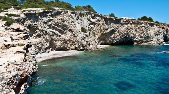 Les plages et les criques d'Ibiza