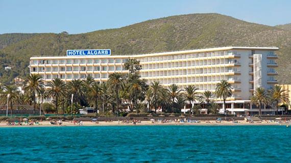 M: Hotel The New Algarb - Playa d en Bossa, Espagne
