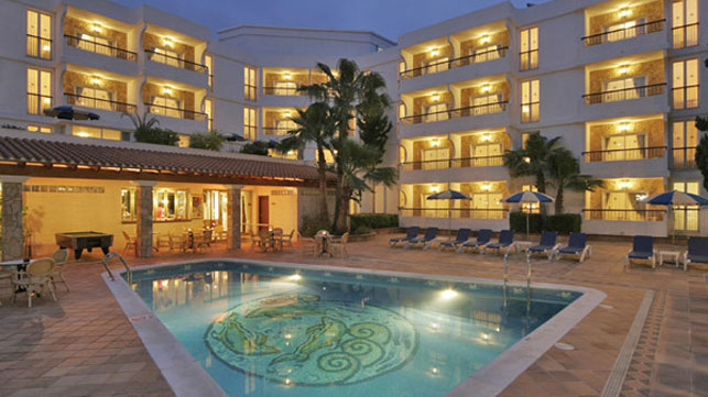 Hoteles apartamentos s 39 argamassa palace ibiza english - Apartamentos santa eulalia ibiza ...
