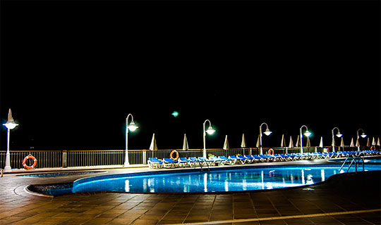 Hoteles apartamentos Santa Eulália