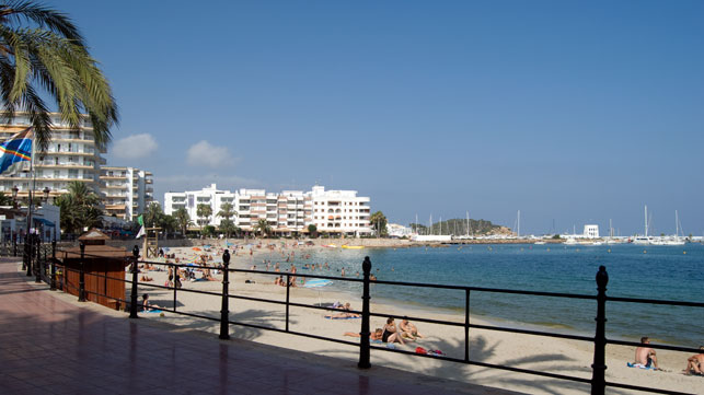 Beaches of Santa Eulalia