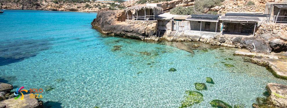 Playas de Ibiza. Calas de Ibiza